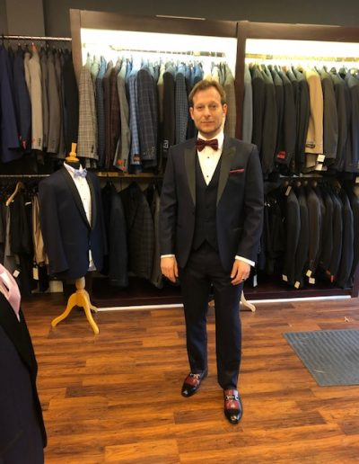 Rocco Custom Tailor | Summit, New Jersey | Customer Tuxedo Styles